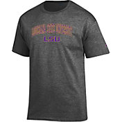 Champion Men's LSU Tigers Grey Promo Jersey T-Shirt