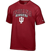 Champion Men's Indiana Hoosiers Grey T-Shirt