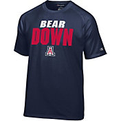 Champion Men's Arizona Wildcats Navy Football Slogan T-Shirt