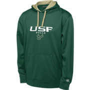 Champion Men's South Florida Bulls Green T-Formation Performance Hoodie