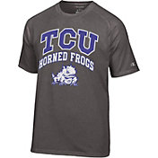 Champion Men's TCU Horned Frogs Grey T-Shirt