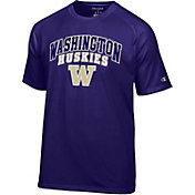 Champion Men's Washington Huskies Purple T-Shirt