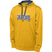 Champion Men's West Virginia Mountaineers Gold T-Formation Performance Hoodie