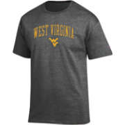 Champion Men's West Virginia Mountaineers Grey Promo Jersey T-Shirt