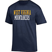 Champion Men's West Virginia Mountaineers Blue T-Shirt