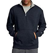 Champion Men's Powerblend Fleece Quarter Zip Sweatshirt