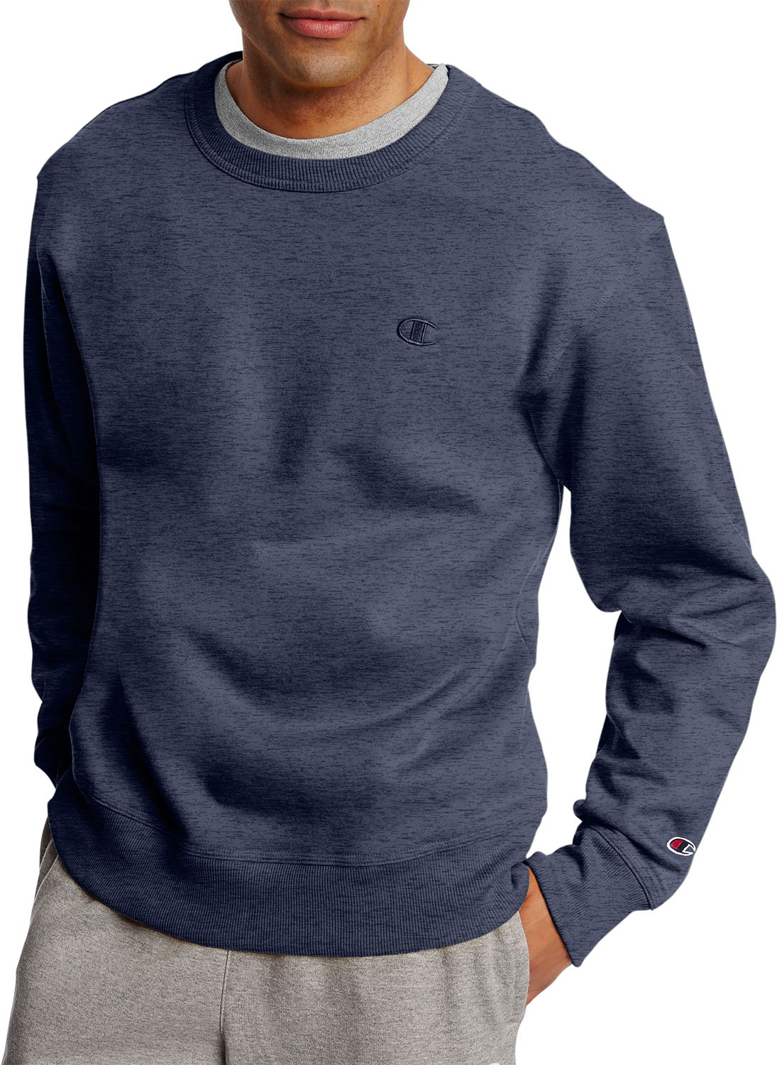 Champion Men's Powerblend Fleece Crewneck Sweatshirt | DICK'S ...