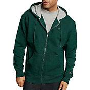 Champion Men's Powerblend Full Zip Fleece Hoodie