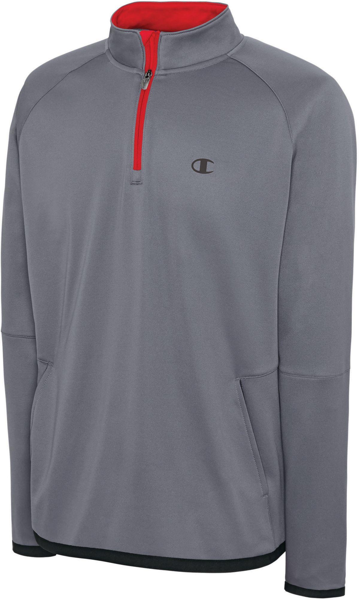 Champion Men's Tech Fleece Quarter Zip Pullover | DICK'S Sporting ...