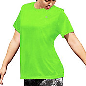 Champion Women's Plus Size Vapor Heather Print T-Shirt