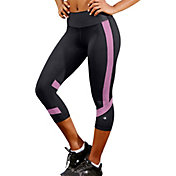 Champion Women's Absolute SmoothTec Waistband Colorblock Capris