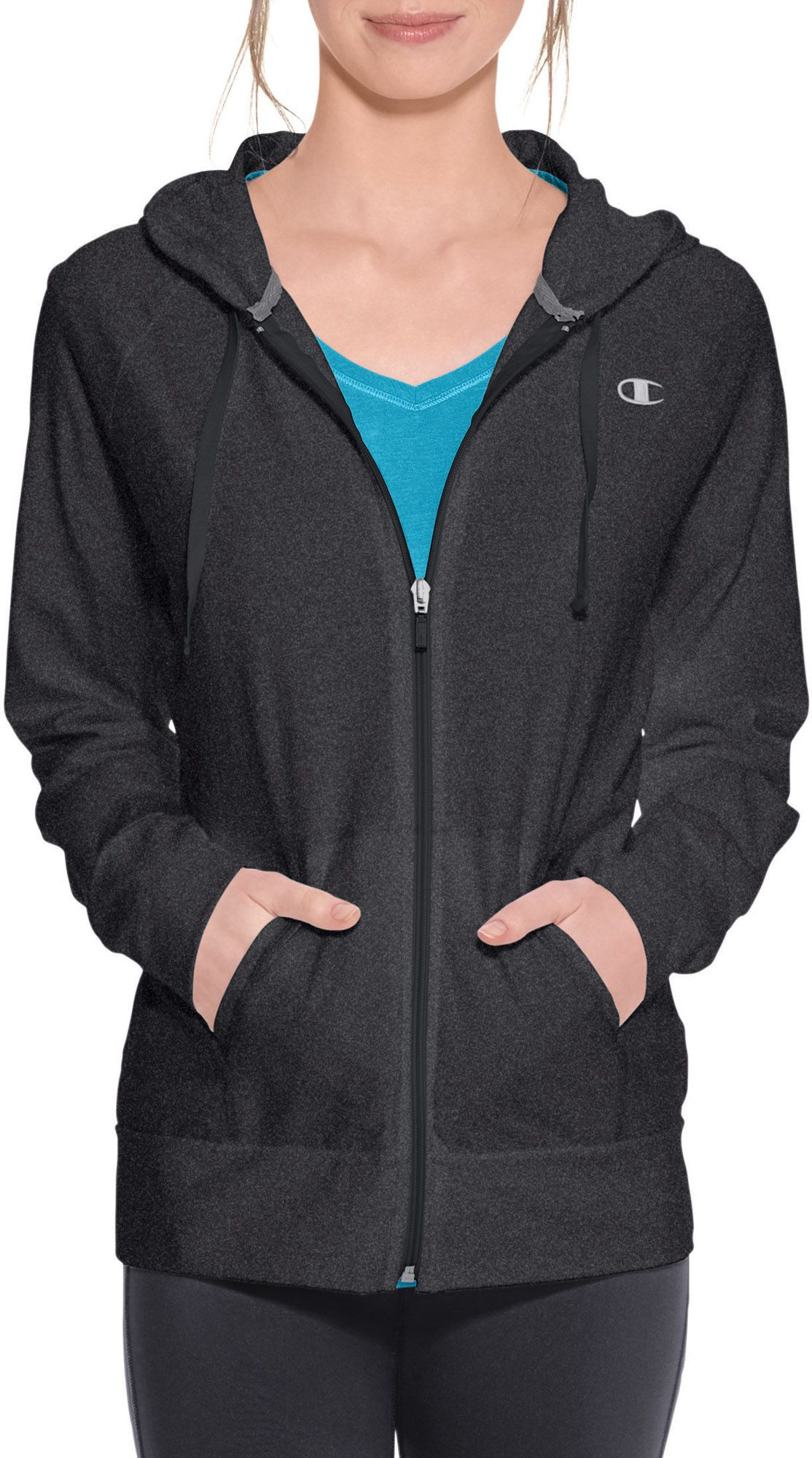 Champion Women's Jersey Full Zip Hoodie | DICK'S Sporting Goods