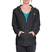 Champion Women's Jersey Full Zip Hoodie