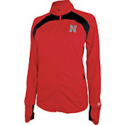 Champion Women's Nebraska Cornhuskers Scarlet Boss Jacket