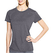 Champion Women's PowerTrain Heather Short Sleeve Shirt