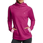 Champion Women's Tech Fleece Funnel Neck Long Sleeve Shirt