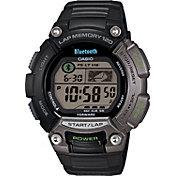 Casio Men's OmniSync Bluetooth Sports Gear Fitness Smartwatch