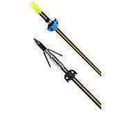 Cajun Piranha Yellow Jacket Carbon Bowfishing Arrow with Slide