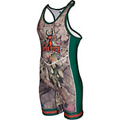 Cliff Keen Metcalf Series Alpha Buck Wrestling Singlet