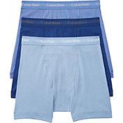 Calvin Klein Men's 6'' Classic Cotton Boxer Briefs 3 Pack
