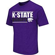 Colosseum Men's Kansas State Wildcats Purple Dual-Blend T-Shirt