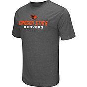 Colosseum Athletics Men's Oregon State Beavers Grey Poly Performance T-Shirt