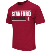 Colosseum Athletics Men's Stanford Cardinal Cardinal Dual-Blend T-Shirt