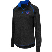 Colosseum Athletics Women's Boise State Broncos Black Bikram Quarter-Zip