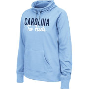 Colosseum Athletics Women's North Carolina Tar Heels Blue Performance Hoodie