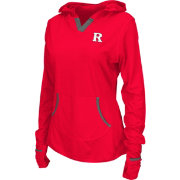 Colosseum Athletics Women's Rutgers Scarlet Knights Scarlet Sprinter Pullover Hoodie