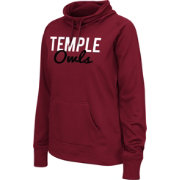 Colosseum Athletics Women's Temple Owls Cherry Performance Hoodie