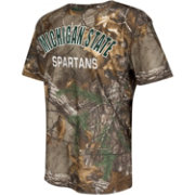 Colosseum Athletics Youth Michigan State Spartans Camo Trail Performance T-Shirt