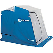 Clam Portage 2 Person Ice Fishing Shelter