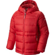 Columbia Boys' Gold 550 TurboDown Hooded Down Jacket