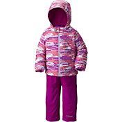 Columbia Toddler Girls' Frosty Slope Bib and Insulated Jacket Set