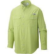 Columbia Men's PFG Cast Away Zero Woven Long Sleeve Shirt