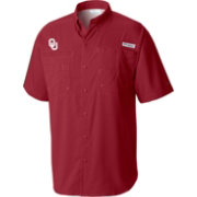 Columbia Men's Oklahoma Sooners Crimson Tamiami Performance Shirt