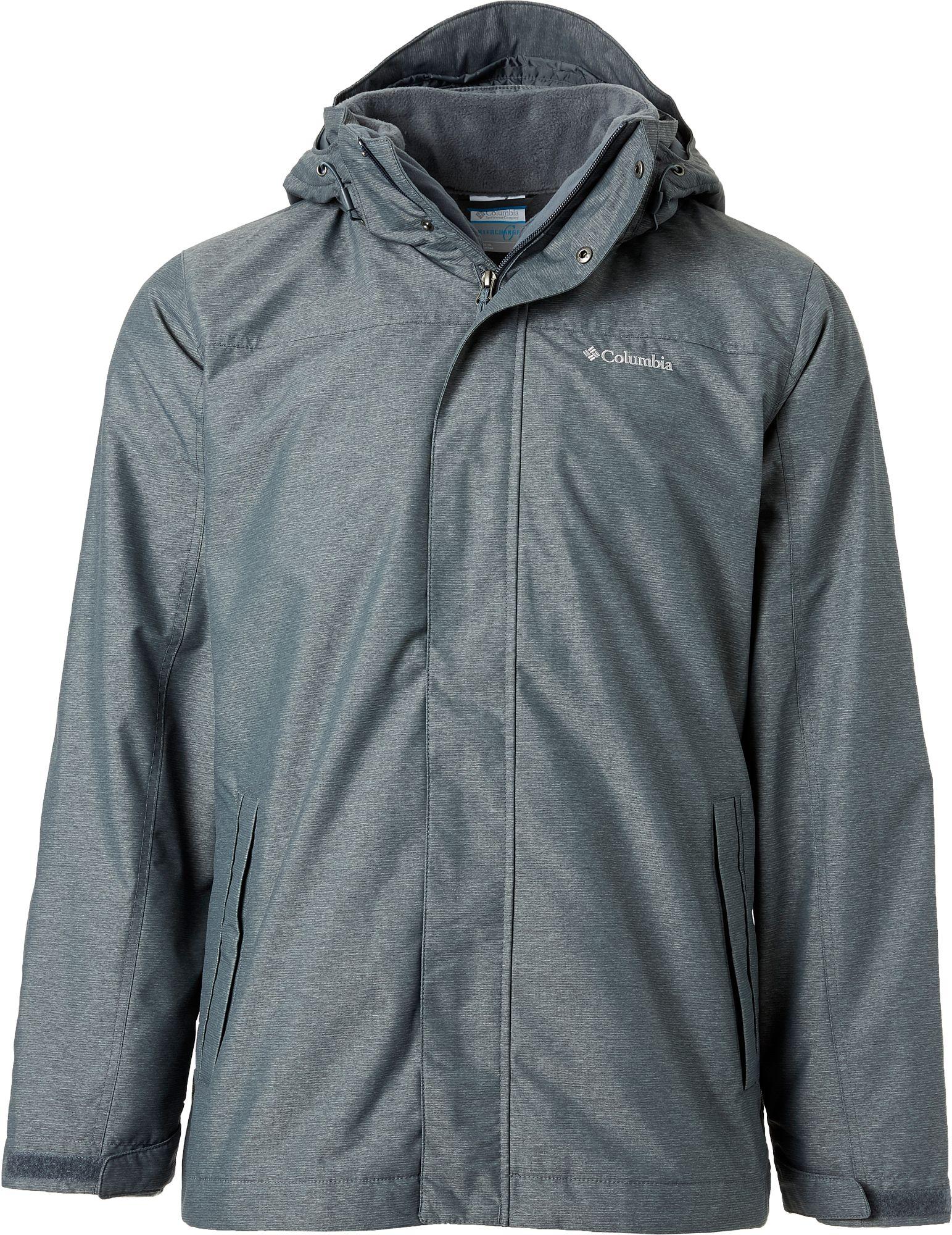 Columbia interchange jacket temperature