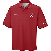 Columbia Men's Alabama Crimson Tide Crimson Perfect Cast Performance Polo