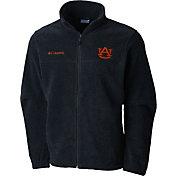 Columbia Men's Auburn Tigers Grey Flaker II Full-Zip Fleece