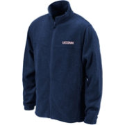 Columbia Men's UConn Huskies Blue Flanker Full-Zip Fleece Jacket