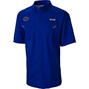 Columbia Men's Florida Gators Blue Low Drag Offshore Short Sleeve Shirt