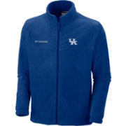 Columbia Men's Kentucky Wildcats Blue Flanker Full-Zip Fleece Jacket