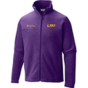 Columbia Men's LSU Tigers Purple Flanker II Full-Zip Fleece Jacket