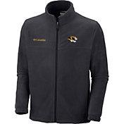 Columbia Men's Missouri Tigers Flanker II Full-Zip Fleece Black Jacket