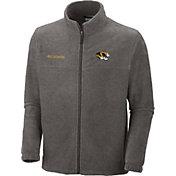 Columbia Men's Missouri Tigers Grey Flanker II Full-Zip Fleece Jacket