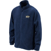 Columbia Men's Pitt Panthers Blue Flanker Full-Zip Fleece Jacket