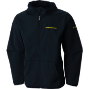 Columbia Men's Oregon Ducks Taylor's Ridge Softshell Black Jacket