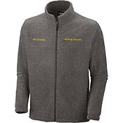 Columbia Men's Oregon Ducks Grey Flanker II Full-Zip Fleece Jacket