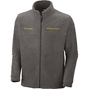Columbia Men's Oregon Ducks Grey Flanker II Full-Zip Fleece Jacket